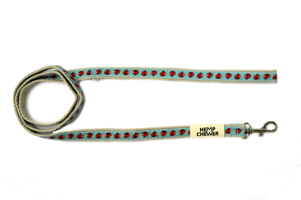 Hempchewer Lady Bugs 15mm Leash