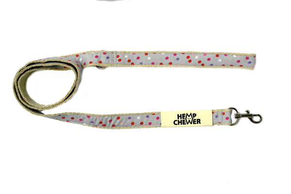 Hempchewer Pretty Polka 20mm Leash