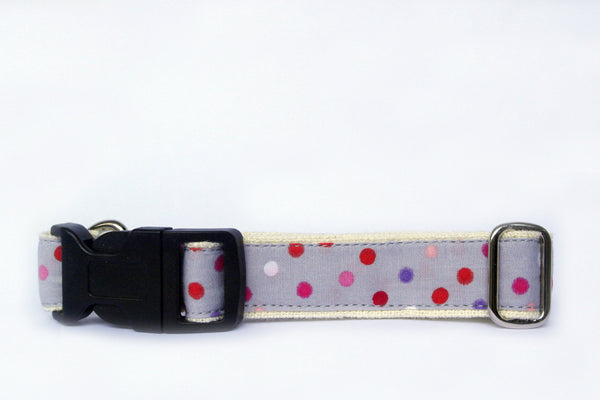 Hempchewer Pretty Polka 20mm Collar