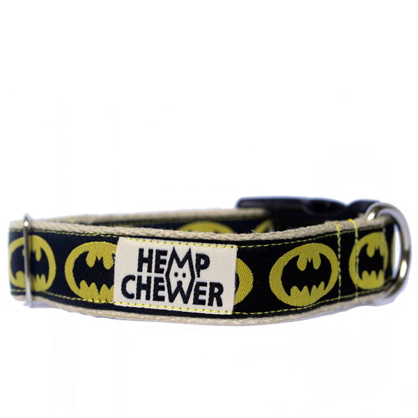 Hempchewer Bat Doggy 25mm Collar