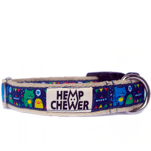 Hempchewer Monsters 25mm Collar