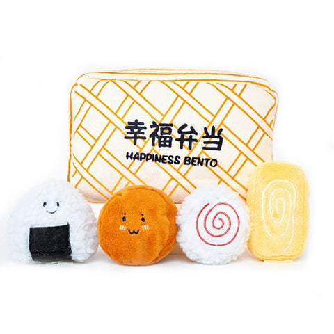 Hey Cuzzies Hide N Seek - Happiness Bento Dog Toy