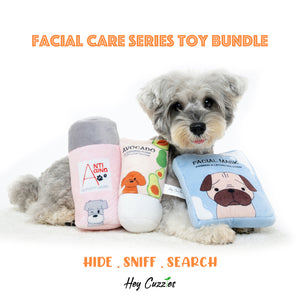 Hey Cuzzies Hide N Seek Facial Care Toy Bundle