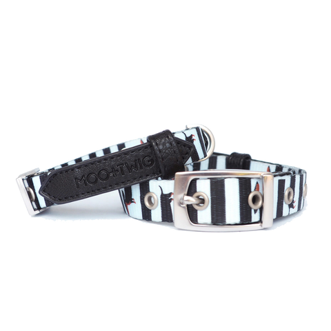 Moo+Twig Vegan Leather Dog Collar - The Frankie