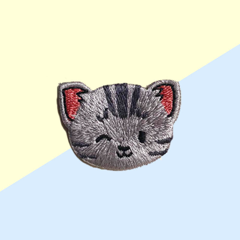 Hey Cuzzies Cat Iron On Patch