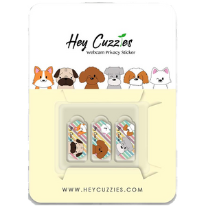 Hey Cuzzies Webcam Privacy Sticker