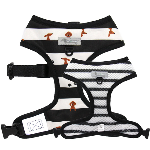 Moo + Twig Reversible Harness - Peek-a-Moo