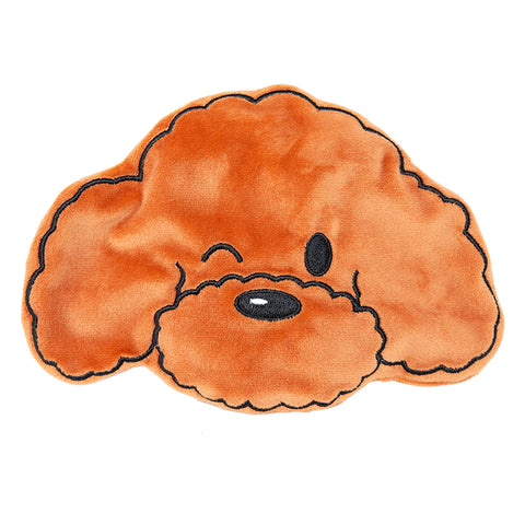 Hey Cuzzies No-Stuffing Poodle Dog Toy