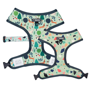 Moo+Twig Reversible Harness - Wild Walkies