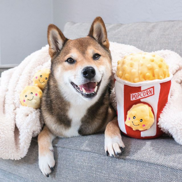 Zippypaws Burrow - Popcorn Bucket