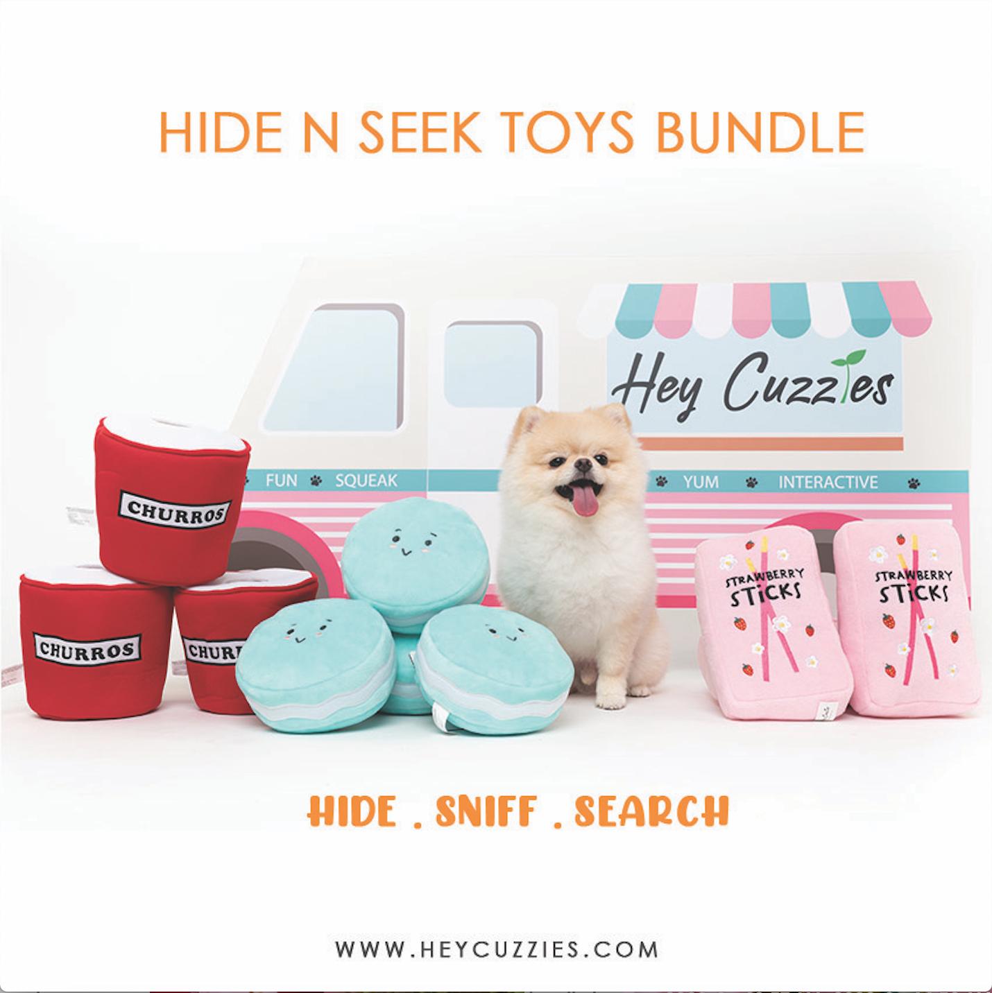 Hey Cuzzies Hide N Seek Bundle