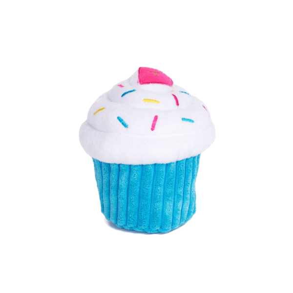 Zippypaws Cupcake Blue