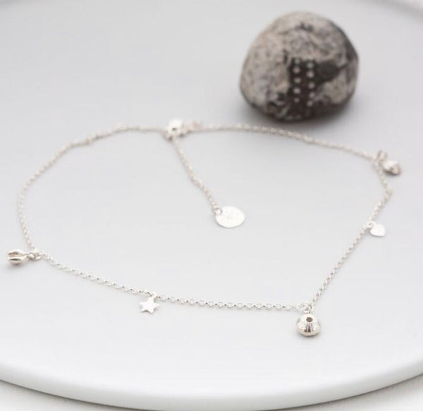 Tiny Salcombe Sea Shells Necklace