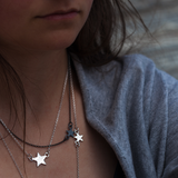 Shooting Star Double Necklace