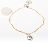 Salcombe Sea Shells on Fine Chain Bracelet