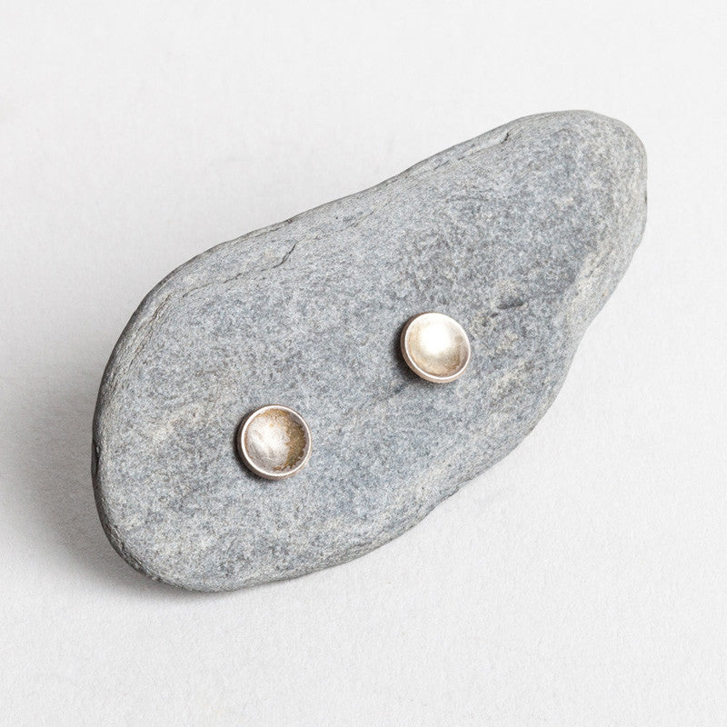 Small Lunar Disc Studs