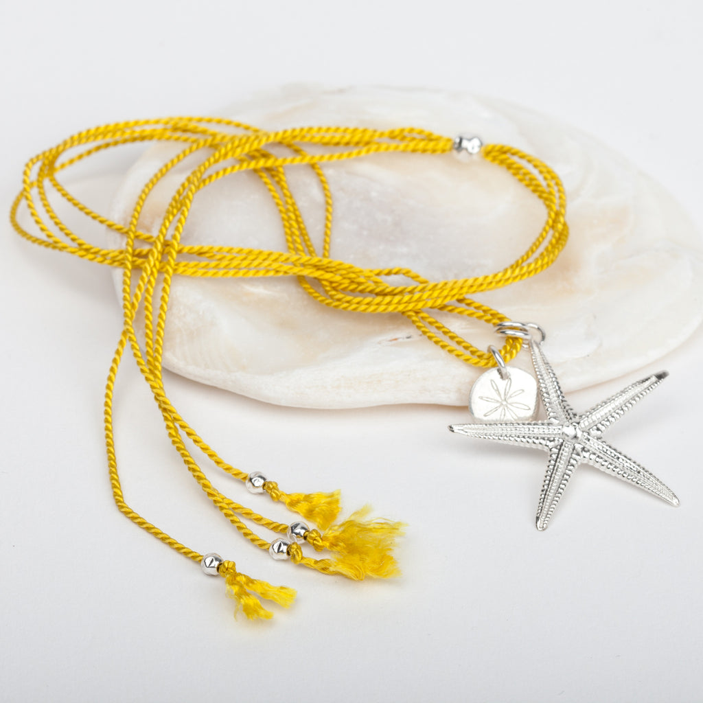 Starfish Silk Necklace