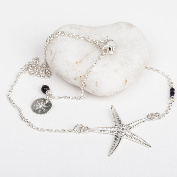 Starfish & Bead Necklace