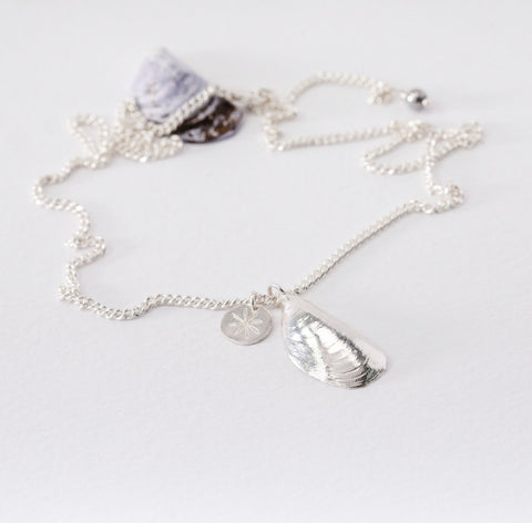 Mussel Shell Necklace