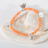 Rocky Pool Semi Precious Bracelets with Tassel