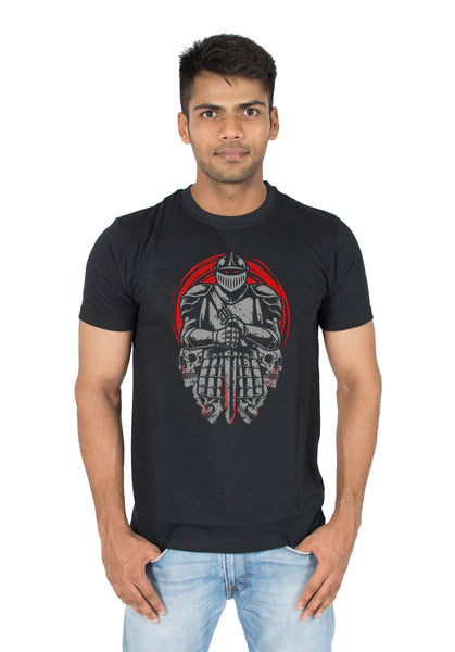 Knight funky cool designer t-shirt for men india by socratees clothing