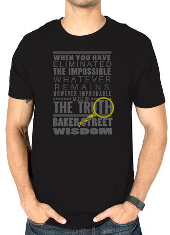 Sherlock T-shirts baker street india online by socratees.in