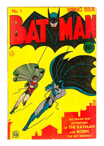 Batman, First Comic Cmx-007.