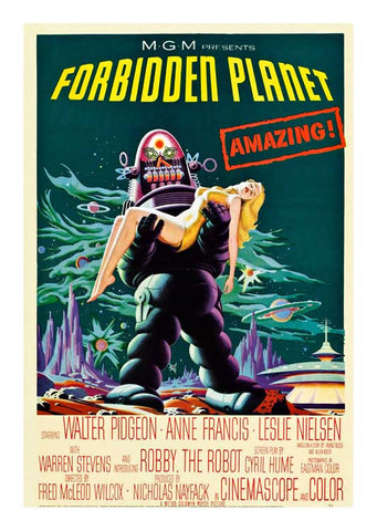 FORBIDDEN PLANET, MocB 030.