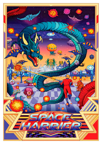 Space Harrier,  Gme-073