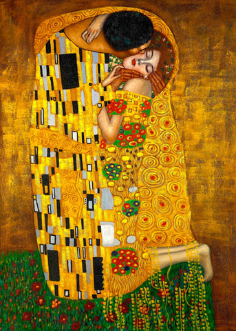 THE KISS - GUSTAV KLIMT, SLG ARPI 007 B