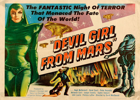 DEVIL GIRL FROM MARS, LG-MocA-155