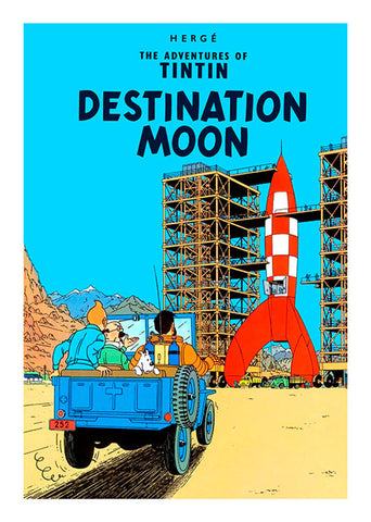 TINTIN, DESTINATION MOON, LG-TLS-26.
