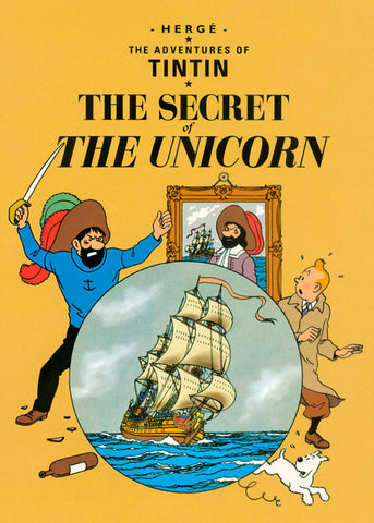 TINTIN, THE SECRET OF THE UNICORN, LG-TLS-31.