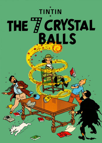 TINTIN, THE 7 CRYSTAL BAIIS, LG-TLS-36