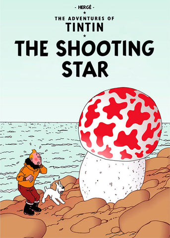 TINTIN, THE SHOOTING STAR, LG-TLS-40.