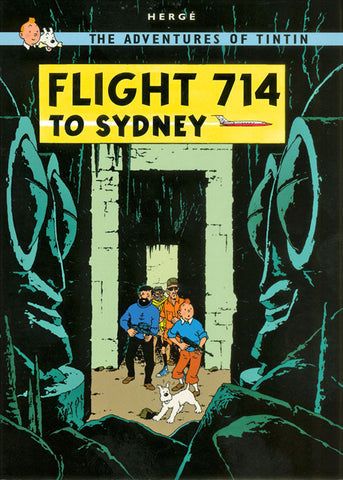 TINTIN, FLIGHT 714 TO SYDNEY, LG-TLS-41.