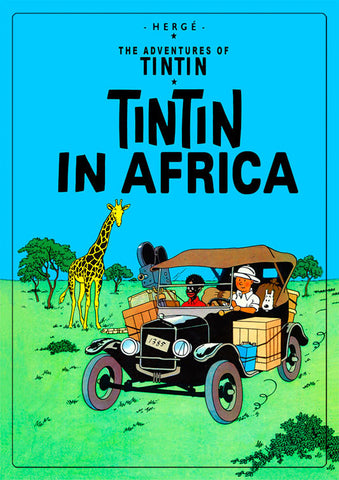 Africa Theme Magnet (Tintin) Mag-009.