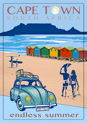 Surf Theme Magnet (Cape Town Beetle) Mag-014.