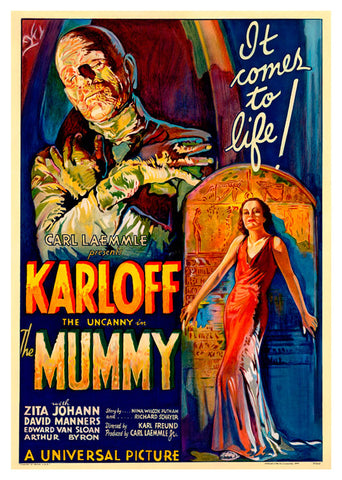 The Mummy, MocA-132
