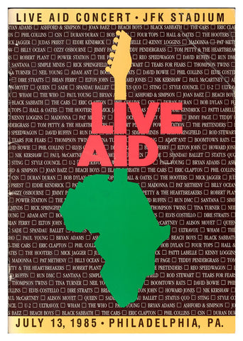 Live Aid Africa, Mus-156