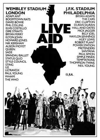 Live Aid Africa, Mus-158