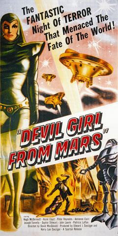 Devil Girl From Mars, SLG MocA-154