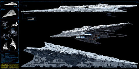 Star Wars, Imperial Super Star Destroyer, Annihilator-Class AD Ferocious , SLG-STW-61.