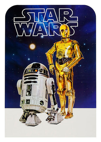 STAR WARS, R2D2 C3PO, STW-28.
