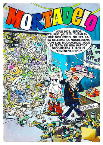 Mortadelo y Filemon, TLS-199