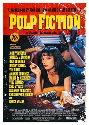 Tarantino, Pulp Fiction, TNT-41