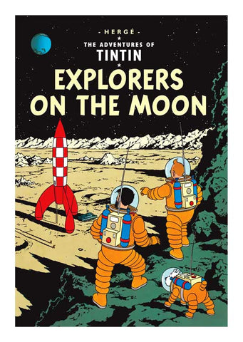 TINTIN, EXPLORERS ON THE MOON, LG-TLS-27.