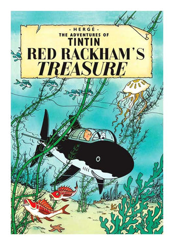 TINTIN, RED RACKHAM'S TREASURE, LG-TLS-28.