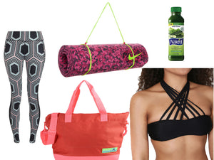 Whats in Your Yoga Bag?