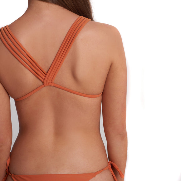 SIRI TOP - BURNT ORANGE